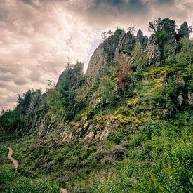 Großer Pfahl bei Viechtach im Bayerischen Wald 1 von Jörg Hausmann