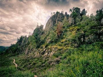 Großer Pfahl bei Viechtach im Bayerischen Wald 1