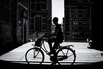 Radfahrer von Friso Kooijman