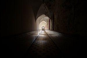 Abandoned monastery van Oscar Beins