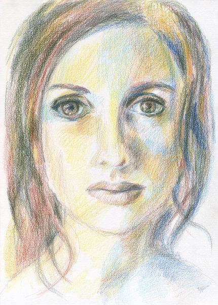Klassiek gezicht van Eva van den Hamsvoort