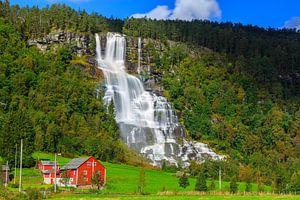Tvindefossen, Noorwegen