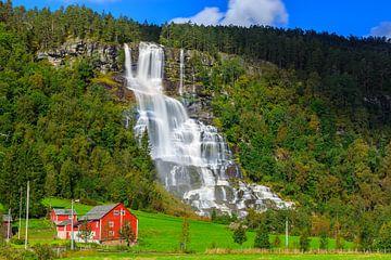 Tvindefossen, Norvège sur Henk Meijer Photography