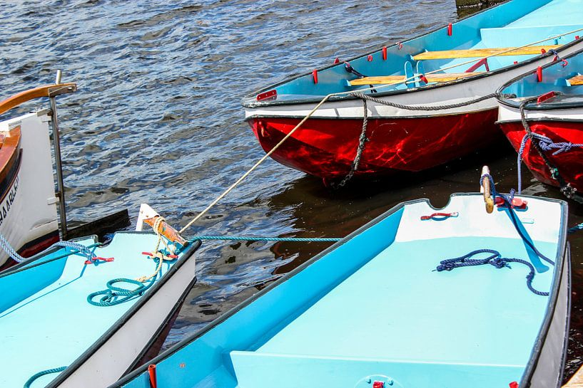 bootjes in Holland close up van Erik Koks