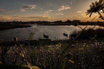 Sonnenuntergang Ooijpolder von kim brugman