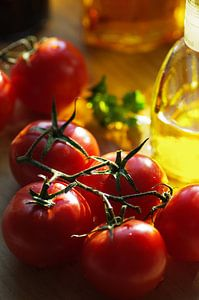 Italiaanse vreugde van het leven in de keuken