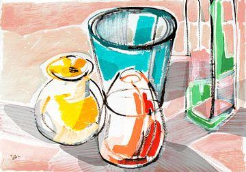 Stillleben: Zusammenhalt von ART Eva Maria