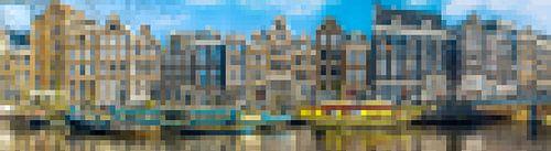 Aan de Amsterdamse grachten II - abstract