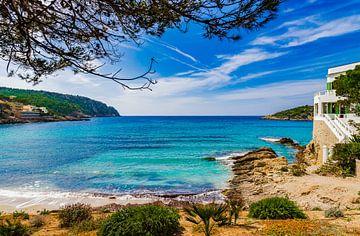 Sant Elm met idyllisch uitzicht op zee, Mallorca Balearen, Spanje van Alex Winter