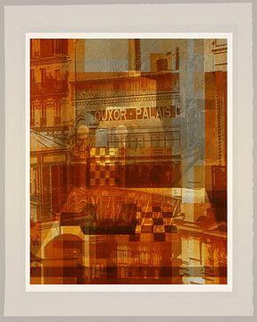 Parijs Louxor Palais collage