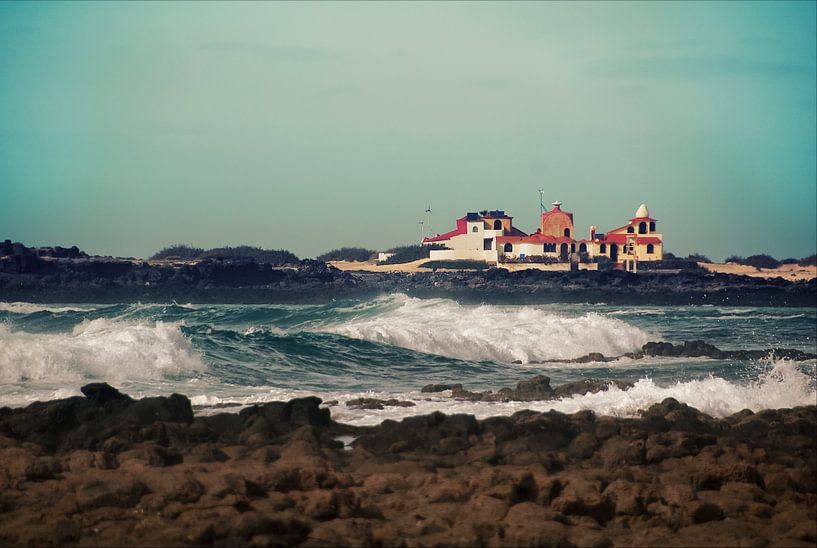 Landschap aan zee van Bob Timroff