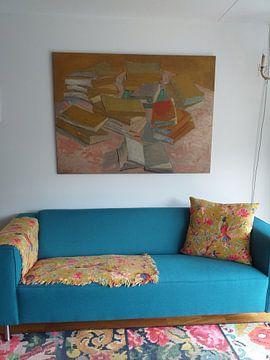 Kundenfoto: Stapel französischer Romane - Vincent van Gogh