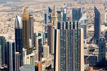 Emirates tower, Al Yaqoub Tower, Sheikh Zayed Road in Dubai