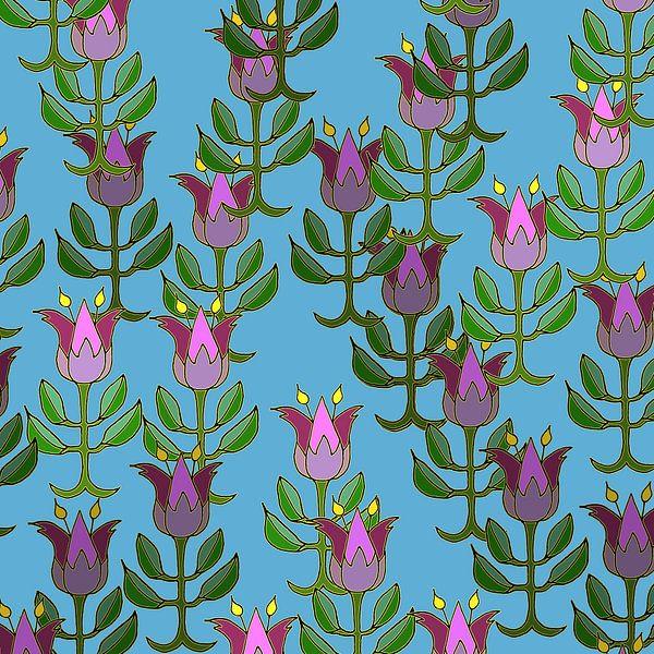 Les Tulipes printanières sur MY ARTIE WALL