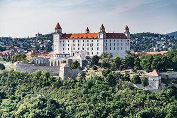 Die Burg Bratislava in der Slowakei von Gunter Kirsch