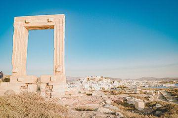 Der Apollo-Tempel auf der Insel Naxos (Griechenland) von Daphne Groeneveld