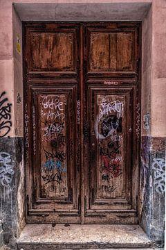 oude deur van C mansveld