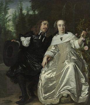 Abraham del Court und seine Frau Maria de Kaersgieter, Bartholomeus van der Helst