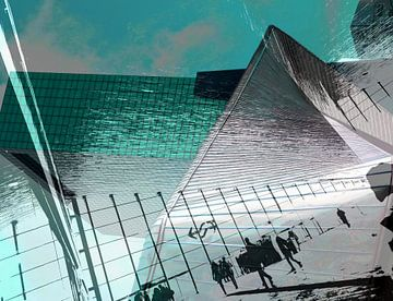 Rotterdam CS vs Haaietand & NN-gebouw von MoArt (Maurice Heuts)