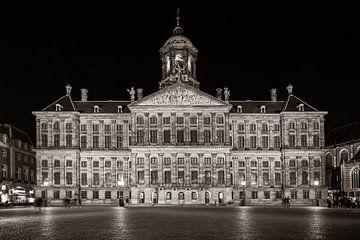 Palast am Damm von Stad in beeld