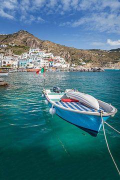 Hafen von Sant Angelo auf Ischia von Christian Müringer