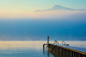 Mist bij Chiemsee van Martin Wasilewski