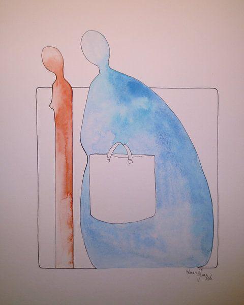 Hij en Zij, De tas