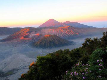 Bromo - Schilderachtige vulkaan op Java van Thomas Zacharias