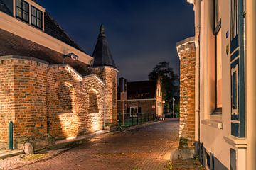 IJsselpoort te IJsselstein bij avond van Tony Buijse