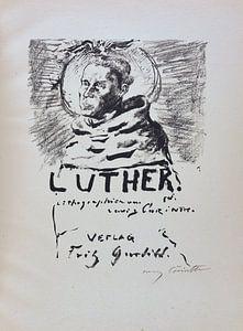 Martin Luther. LOVIS CORINTH, 1920-21