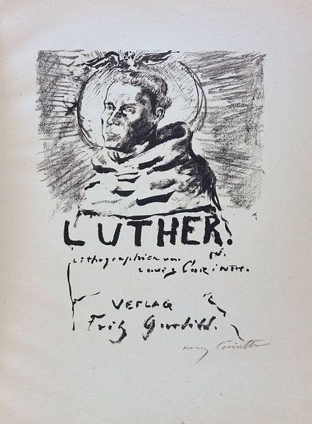 Martin Luther. LOVIS CORINTH, 1920-21 van Atelier Liesjes