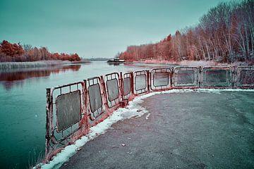 Hafen Pripjat von Lars Beekman