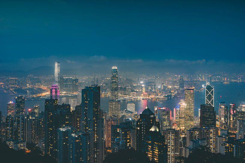 Hong Kong Panorama III van Pascal Deckarm