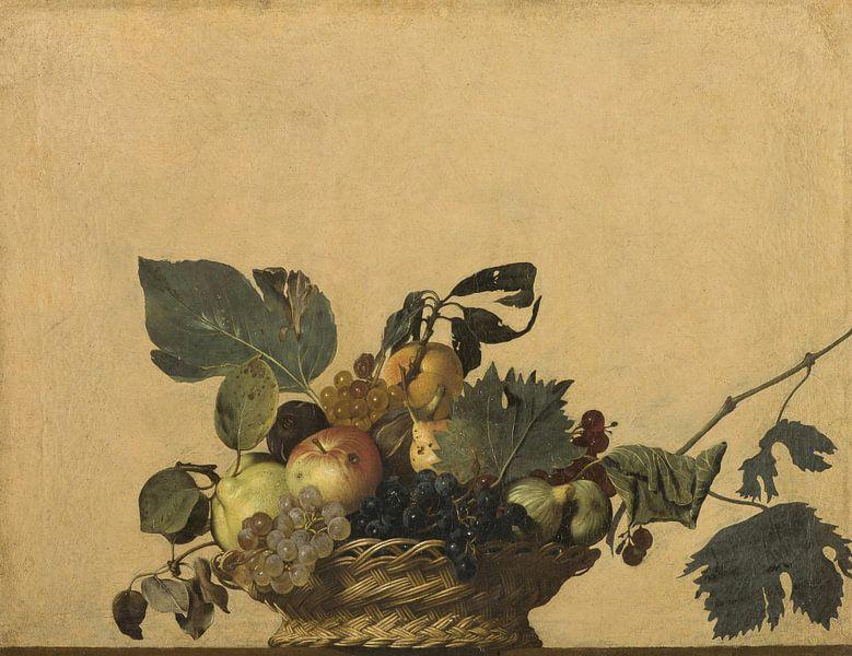 Fruitmand, Caravaggio van Meesterlijcke Meesters