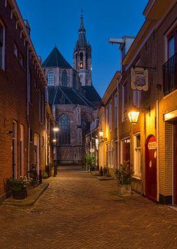 Die Trompetenstraße in Delft von Charlene van Koesveld