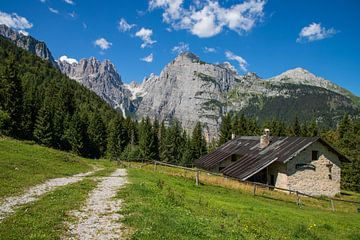 Wandelen in de  Dolomiti di Brenta van Ton Tolboom