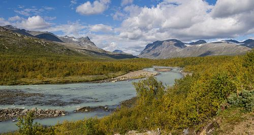 Rapadalen Vallei, Zweeds Lapland