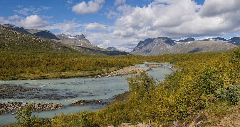 Rapadalen Vallei, Zweeds Lapland van Capture The Mountains