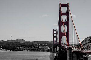 Golden Gate Bridge - San Francisco von Johnny van der Leelie