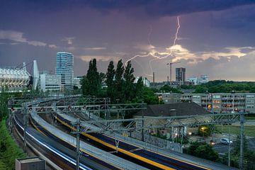 Blitzschlag über Strijp-S von Mitchell van Eijk