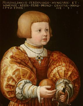 Portrait of Maximilian of Austria, Aged Three, Jacob Seisenegger