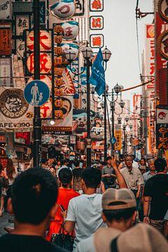 Straten van Osaka, Japan sur Sascha Gorter