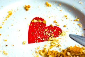 Liefde: kruimels in de ochtend.