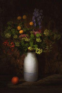 Still life with  flowers. van Saskia Dingemans