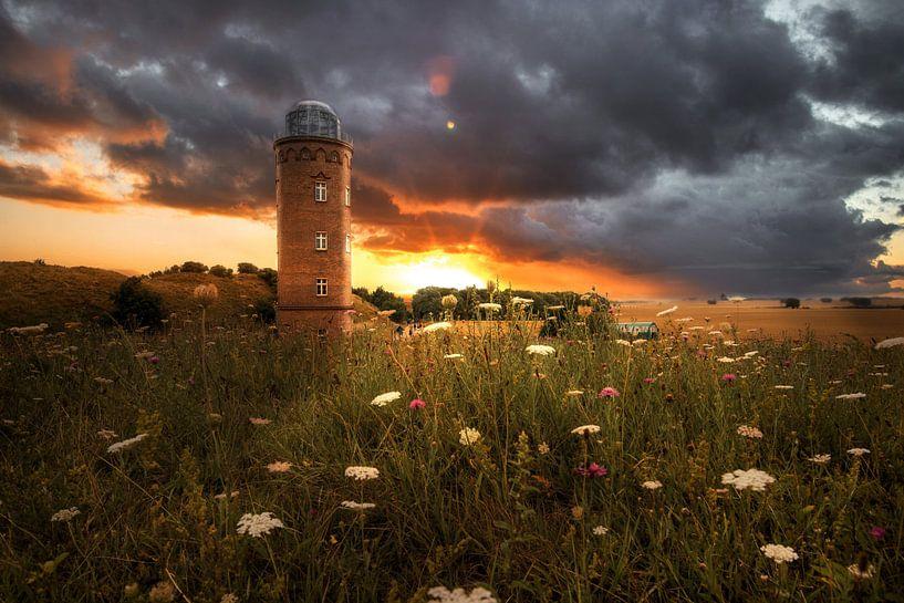 Dragende Toren Cape Arkona van Sergej Nickel