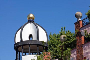"""Hundertwasserhaus Magdeburg """"De Groene Citadel"""" van t.ART"""