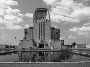 Die Vorderseite des Gebäudes von Martijn Tilroe
