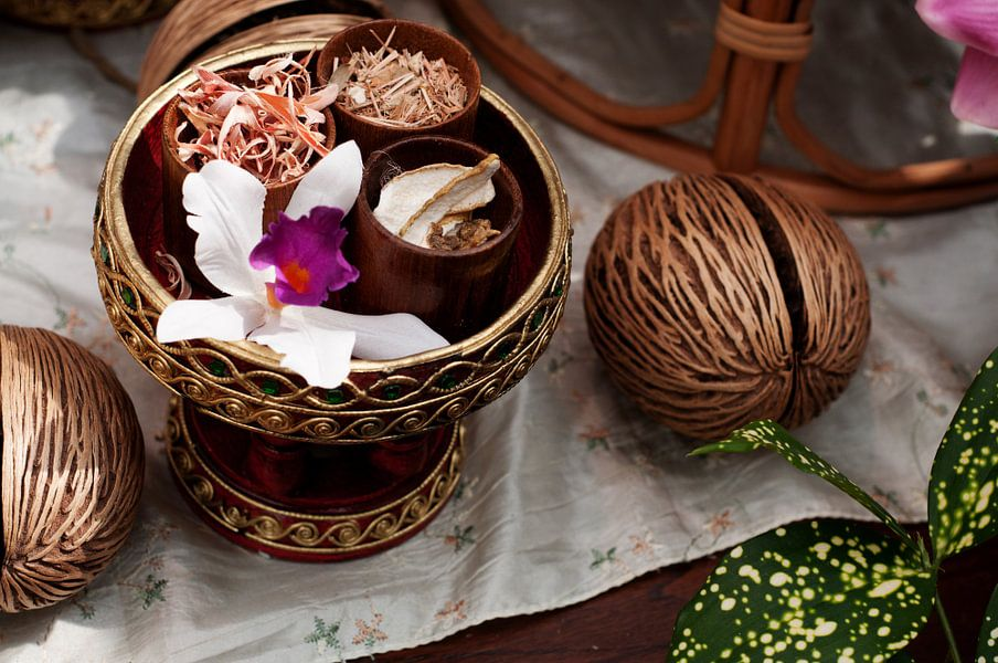 Thaise massage kruiden