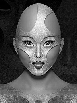 Eisenmaske von Ton van Hummel (Alias HUVANTO)