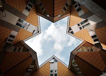 Kubuswoningen in Rotterdam von Mike Landman
